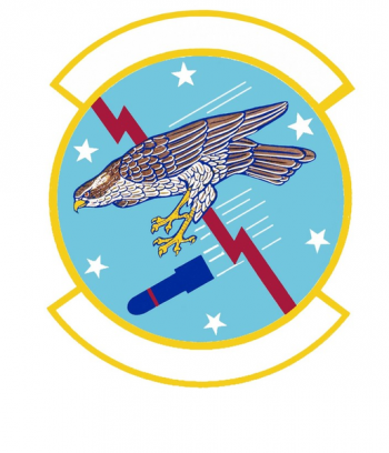 Coat of arms (crest) of the 6th Bombardment Squadron (later 6th Reconnaissance Sqn), US Air Force