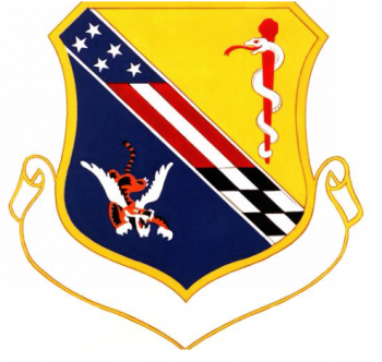 Coat of arms (crest) of the USAF Hospital England, US Air Froce