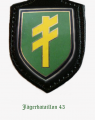 Jaeger Battalion 43, German Army.png