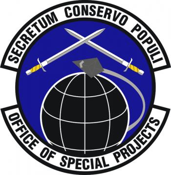Coat of arms (crest) of the Air Force Office of Special Investigations Office of Special Projects, US Air Force