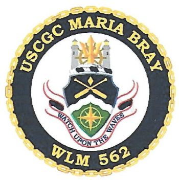 Coat of arms (crest) of the USCGC Maria Bray (WLM-562)