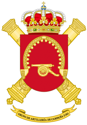 Field Artillery Group I-30, Spanish Army.png