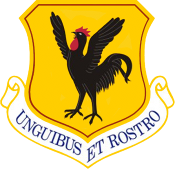 Coat of arms (crest) of the 18th Wing, US Air Force