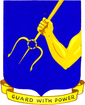 Coat of arms (crest) of the 25th Bombardment Group, USAAF