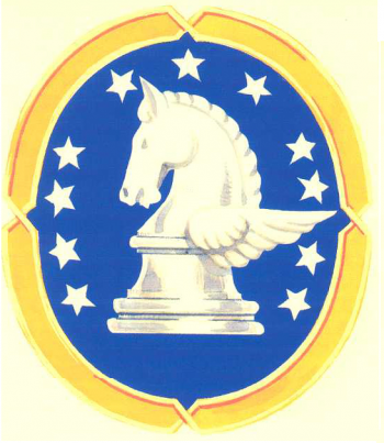 Coat of arms (crest) of the 434th Base Headquarters and Air Base Squadron, USAAF