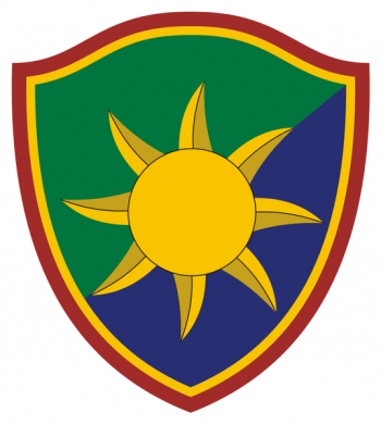 Coat of arms (crest) of the 50th Regional Support Group, Florida Army National Guard