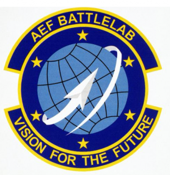 Coat of arms (crest) of the Air Expeditionary Force Battlelab, US Air Force