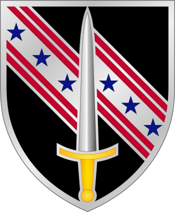 Coat of arms (crest) of the 54th Security Force Assistance Brigade, USA
