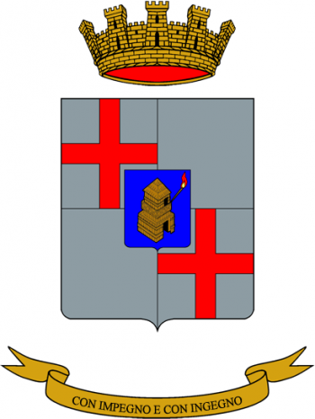 Coat of arms (crest) of the 32nd Signal Regiment, Italian Army