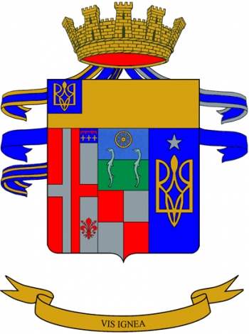 Coat of arms (crest) of the 8th Artillery Regiment, Italian Army