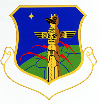 Coat of arms (crest) of the 1931st Communications Group, US Air Force