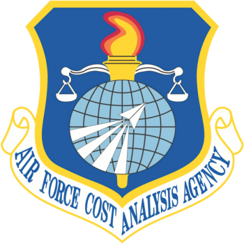 Coat of arms (crest) of the Air Force Cost Analysis Agency, US Air Force