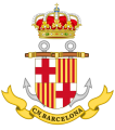 Naval Command of Barcelona, Spanish Navy.png