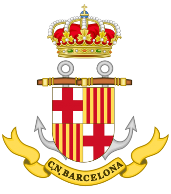 Coat of arms (crest) of the Naval Command of Barcelona, Spanish Navy