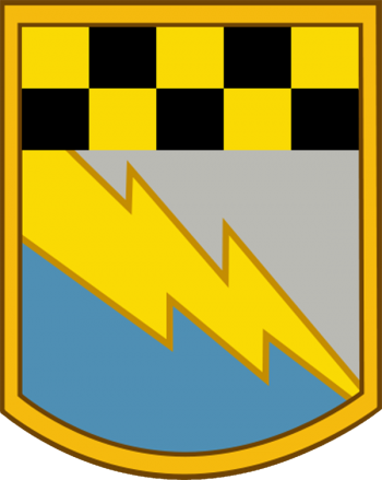 Arms of 525th Military Intelligence Brigade, US Army