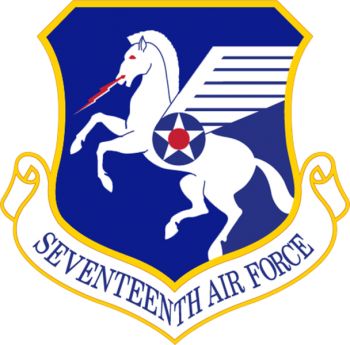 Coat of arms (crest) of the 17th Air Force, US Air Force
