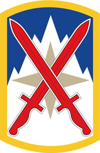 Arms of 10th Sustainment Brigade, US Army