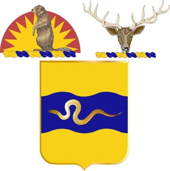 Coat of arms (crest) of the 116th Cavalry Regiment, Oregon and Idaho Army National Guard