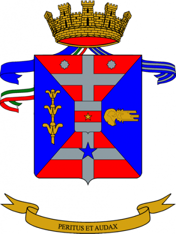 Coat of arms (crest) of the 11th Engineer Regiment, Italian Army