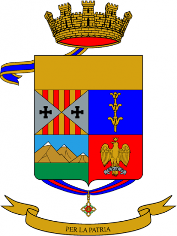 Coat of arms (crest) of the 141st Infantry Regiment Catanzaro, Italian Army
