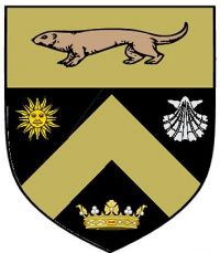 Arms of Sorin Hall, University of Notre Dame