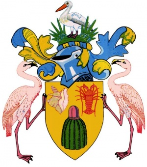 Arms of the Turks and Caicos Islands