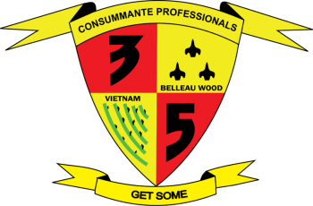 Coat of arms (crest) of the 3rd Battalion, 5th Marines, USMC