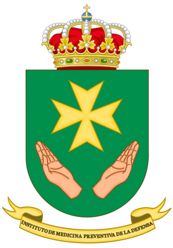 Coat of arms (crest) of the Defence Institute of Preventive Medicine, Spain