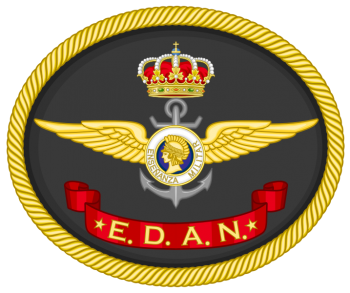 Coat of arms (crest) of the Navy Aircraft Crews School, Spanish Navy