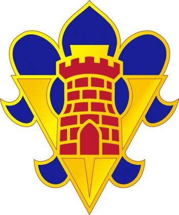 Arms of 5th Armored Brigade, US Army