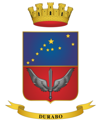 Coat of arms (crest) of the 3rd Special Operations Helicopter Regiment Aldebaran, Italian Army
