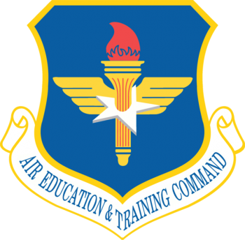 Coat of arms (crest) of the Air Education and Training Command, US Air Force