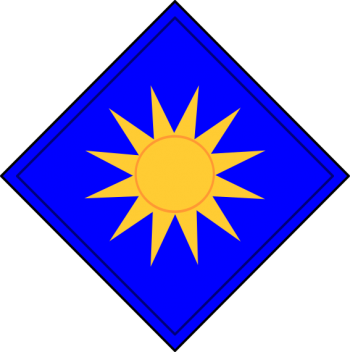 Arms of 40th Infantry Division Sunshine Division, USA