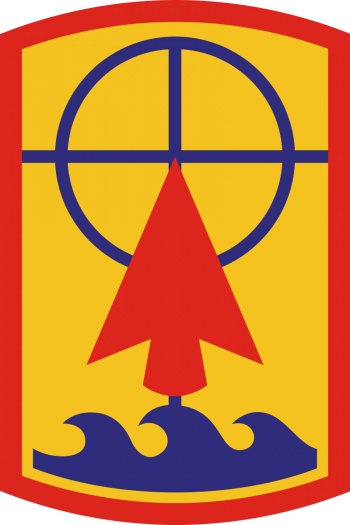 Arms of 157th Maneuver Enhancement Brigade, Wisconsin Army National Guard