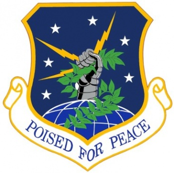 Coat of arms (crest) of the 91st Missile Wing, US Air Force