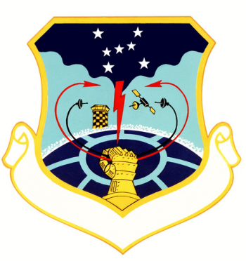 Coat of arms (crest) of the 1961st Communications Group, US Air Force