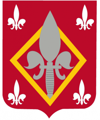 Coat of arms (crest) of the 51st Engineer Battalion, US Army