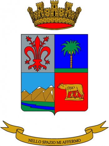 Coat of arms (crest) of the 3rd Signal Regiment, Italian Army