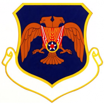 Coat of arms (crest) of the 7217th Airbase Group, US Air Force