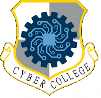 Coat of arms (crest) of the Air Force Cyber College, US Air Force