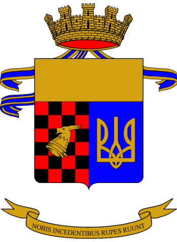 Coat of arms (crest) of the 3rd Mountain Artillery Regiment, Italian Army