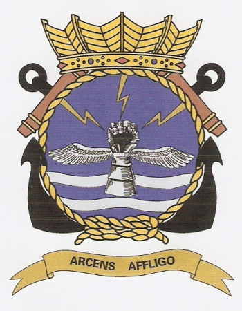 Coat of arms (crest) of the 860th Squadron, Naval Aviation Service, Netherlands Navy