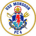 Coastal Patrol Ship USS Monsoon (PC-4).png