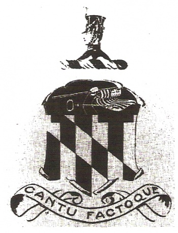 Coat of arms (crest) of the Harbor Defenses of Baltimore, US Army