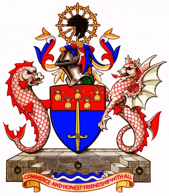 Arms of Worshipful Company of World Traders