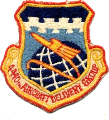 Coat of arms (crest) of the 4440th Aircraft Delivery Group, US Air Force