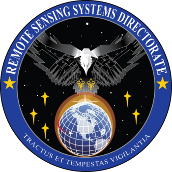 Coat of arms (crest) of the Remote Sensing Systems Directorate, US Space Force