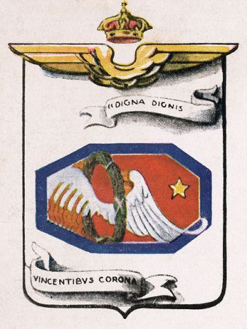 Coat of arms (crest) of the 187th Hydroplane Squadron, Regia Aeronautica