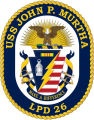 Ampibious Transport Dock USS John P. Murtha (LPD-26), US Navy.png