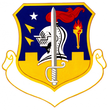 Coat of arms (crest) of the 3335th Student Group, US Air Force